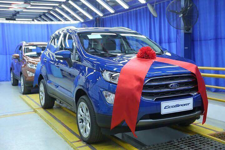 Ford EcoSport 1.5L Dragon AT Titanium 20194