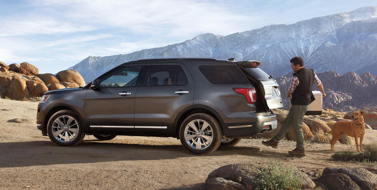 New Ford Explorer 20204